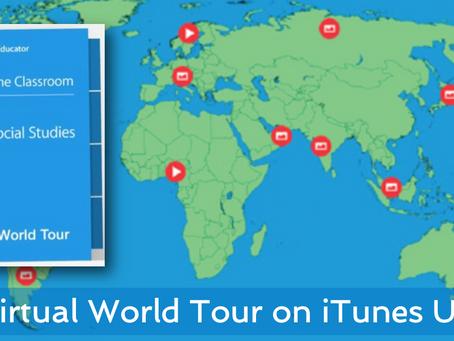 iTunes U course - a Virtual World Tour