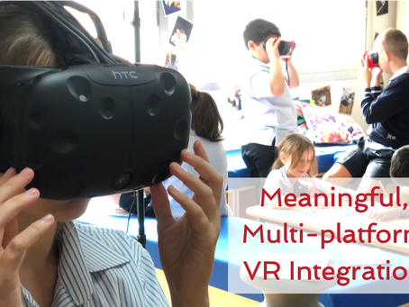 Meaningful, multi-platform VR integration