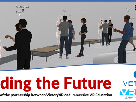 Building the Future: The VictoryXR and IVRE partnership