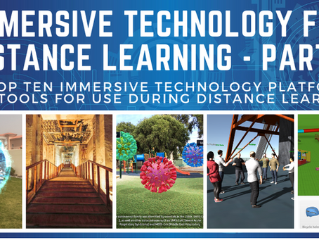 Immersive Tech For Distance Learning pt.2