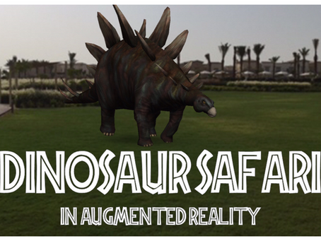 The Augmented Reality Dinosaur Safari