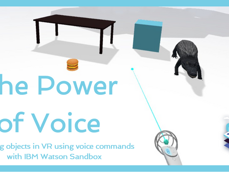 Creating objects with IBM Watson Sandbox