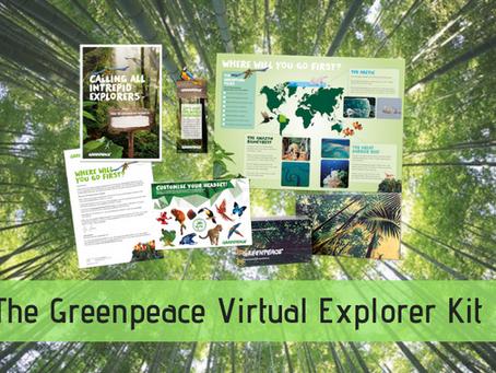 The Greenpeace Virtual Explorer Kit