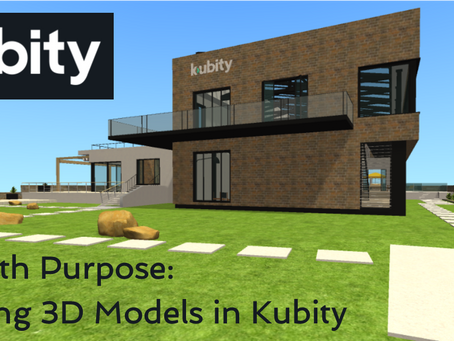 VR with purpose: viewing 3D models in Kubity
