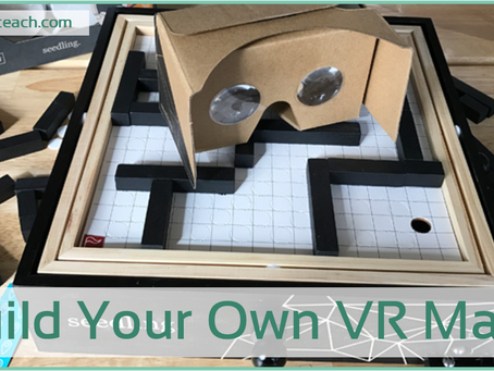 Build Your Own Virtual Reality Maze