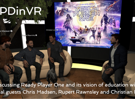 The Ready Player One #CPDinVR event