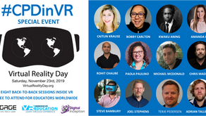 The World VR Day #CPDinVR event