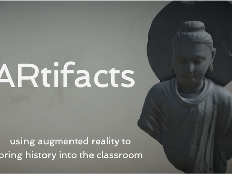 ARtifacts - using AR in the history classroom
