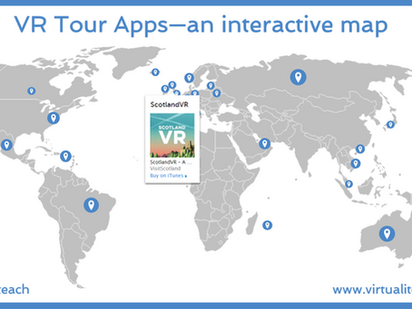 VR Tour Apps - an interactive map