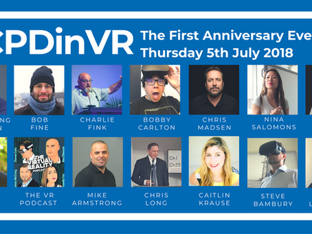The #CPDinVR First Anniversary Event