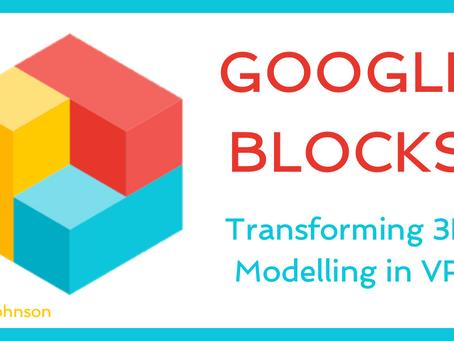 Google Blocks - 3D Modelling in VR