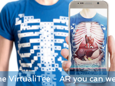 The VirtualiTee - AR you can wear