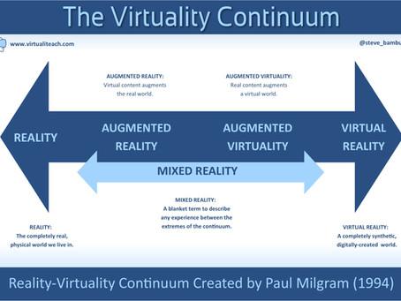 Exploring the Virtuality Continuum