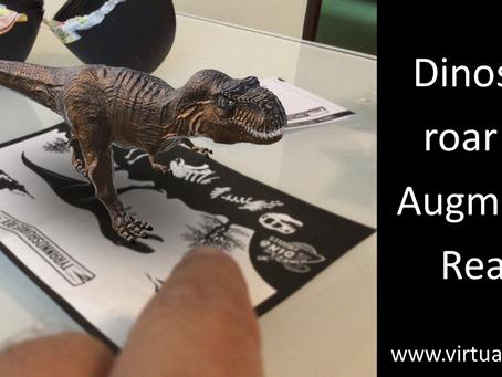 Dubai based startup bringing dinosaurs to AR
