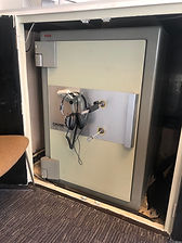 locked Chubb safe picked open in london