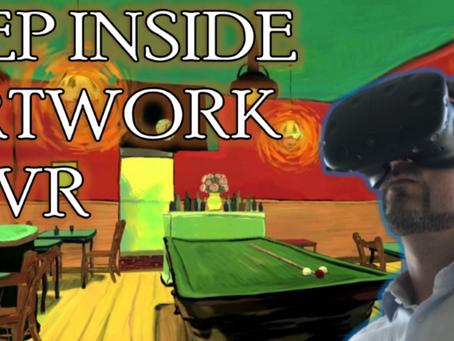 Step inside Artwork in Virtual Reality