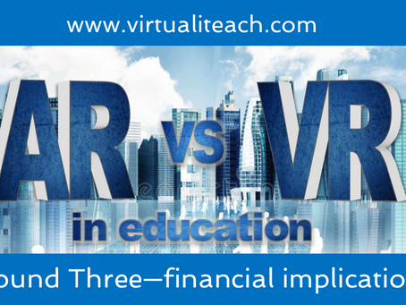 AR vs VR in Education: Round 3