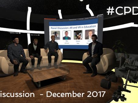 The #CPDinVR Panel - December 2017