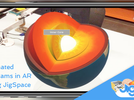 Animated diagrams in AR using JigSpace