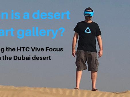 When is a Desert an Art Gallery?