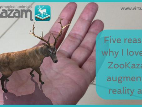 Five reasons I love the ZooKazam app