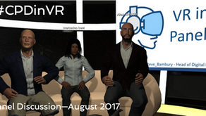 Video footage from #CPDinVR panel discussion
