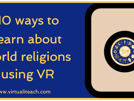 10 ways to learn about religion using VR