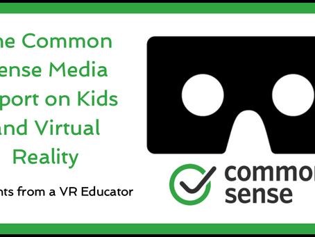 The Common Sense Media VR Report