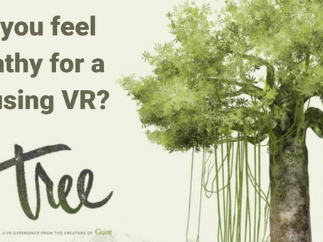 Can you feel empathy for a tree in VR?