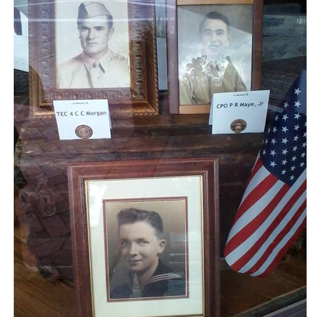 In Honor and Memory Of. . . Three American Heroes!