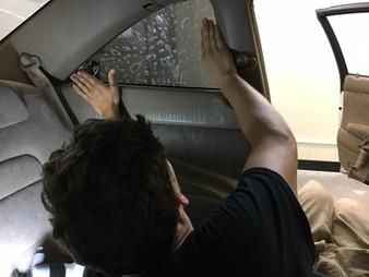 Rear Corner Window Tint Training Class