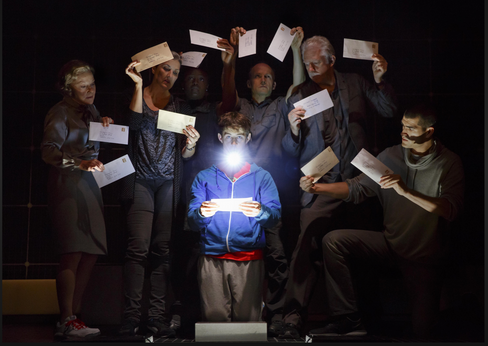 The Curious Incident of the Dog in the Night-time, Ethel Barrymore Theatre, Broadway