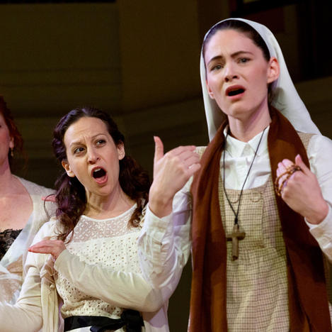 Singing and Signing: 'Deaf Opera' Comes to Grounds