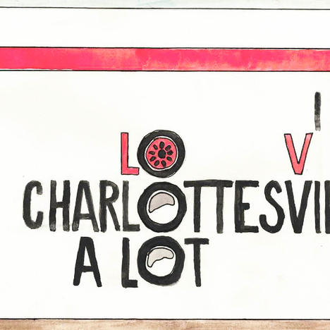 'I Miss Charlottesville A Lot': Student Painter Supports Community