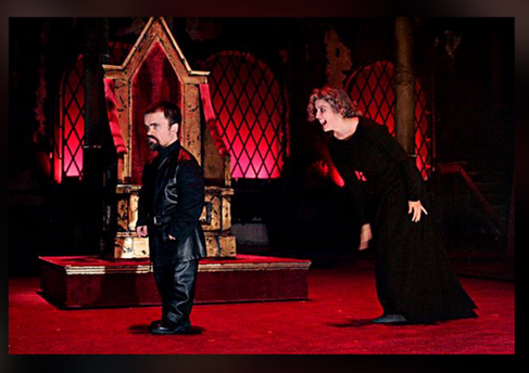 Richard III, with Peter Dinklage, at The Public Theater
