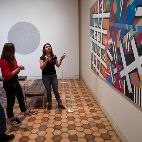 Behind the Scenes at the Museum: Meet Student Docent Chair Frankie Mananzan