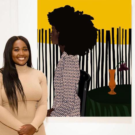 Far From Finished: Alumna Uzo Njoku's Art Business Soars