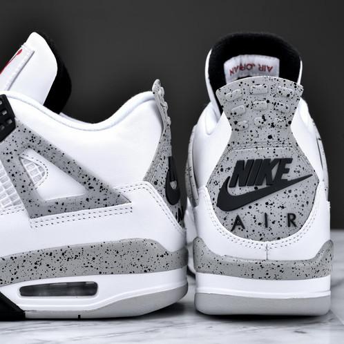 16efc1a58554 Nike Air Jordan 4 Retro OG - White Cement