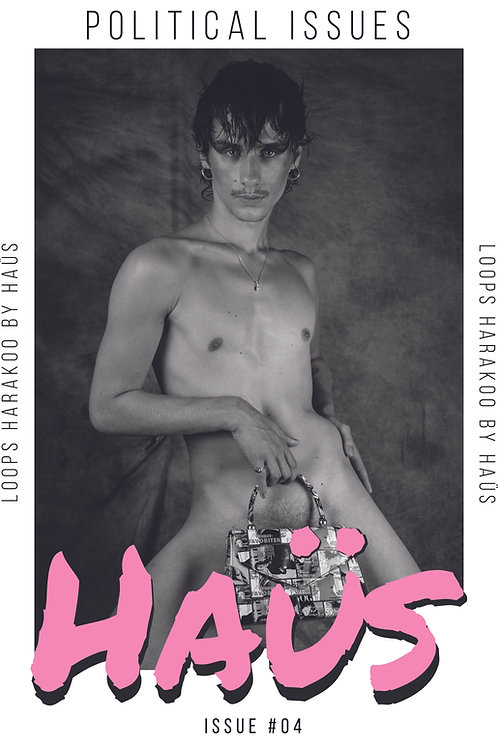 HAÜS Issue #4 : Political Issues Vol. 1 (Cover 3)