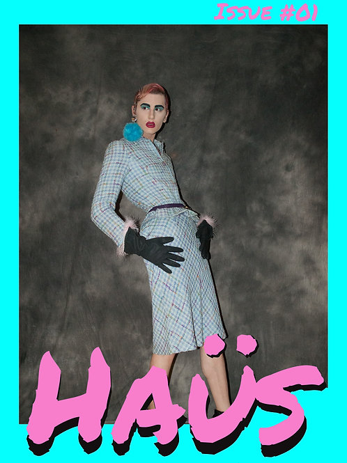 Haüs Issue #01 A3 Poster