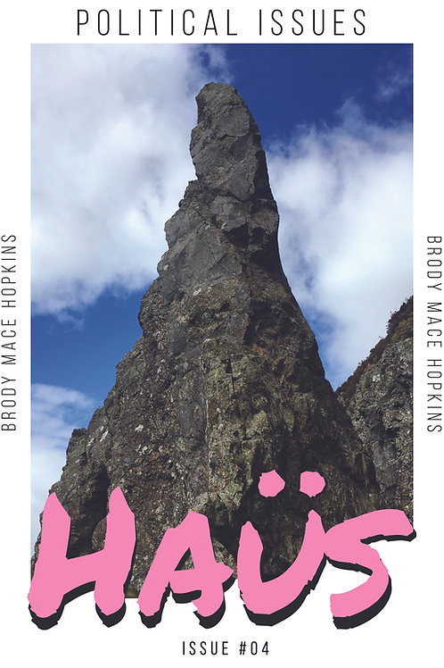 HAÜS Issue #4 : Political Issues Vol. 2 (Cover 2)