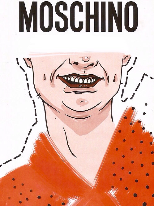 Moschino Realness Paper Doll Book by Cowboy/Kit