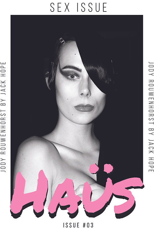 HAÜS Issue #3 :SEX Issue Vol. 1 (Cover 3)