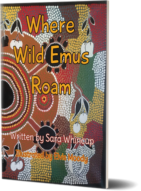 'Where Wild Emus Roam' by Sara Whincup