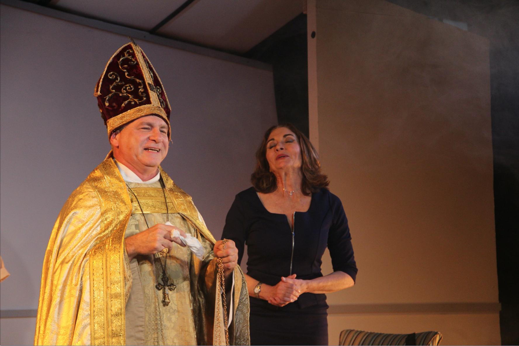 The Pope & Veronique