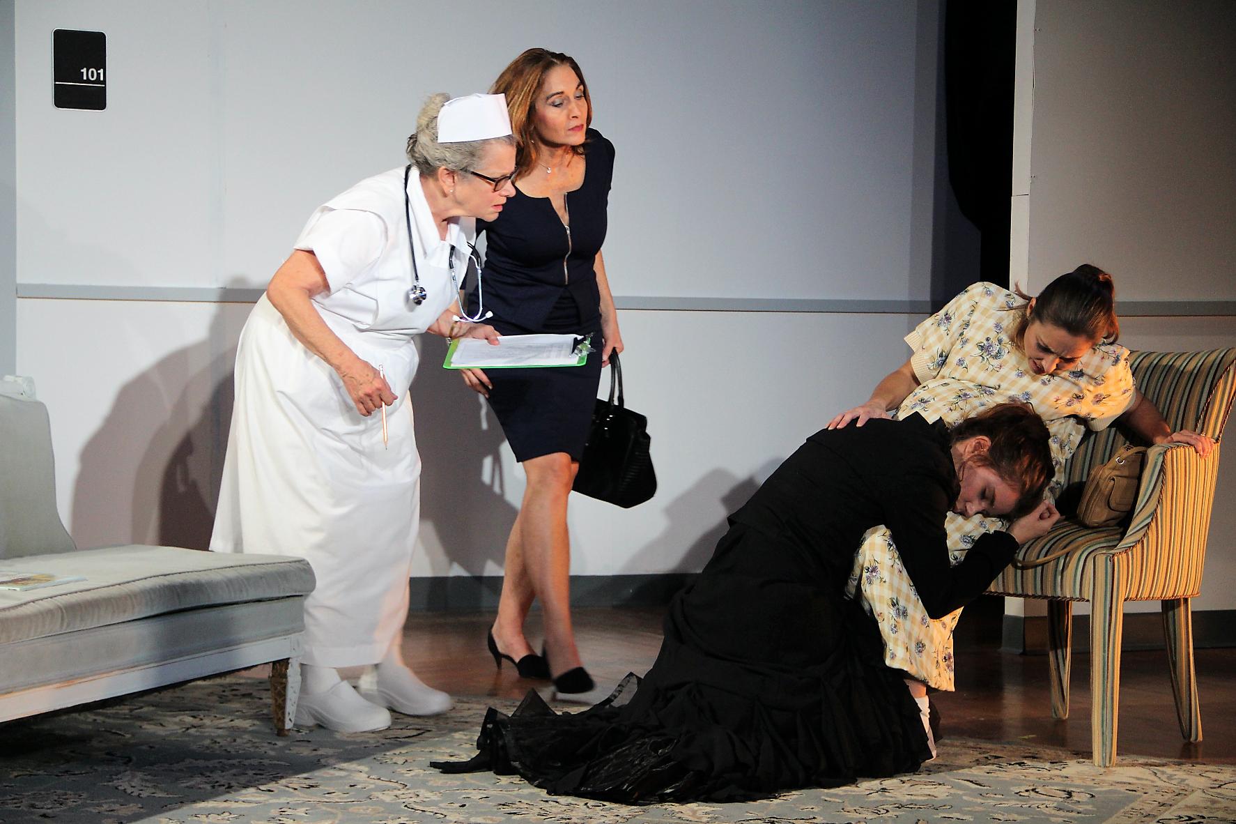 Nurse, Veronique, Nasty & Audrey
