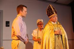 Christopher,The Pope & Nurse