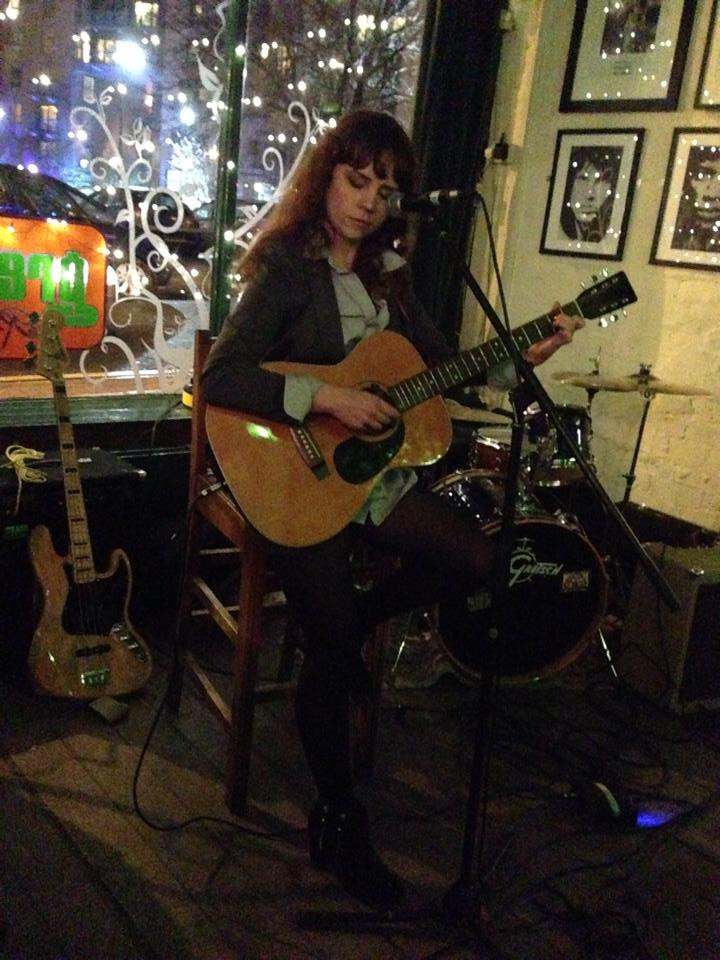 Sarah Sharp performing at Green Room in Sheffield