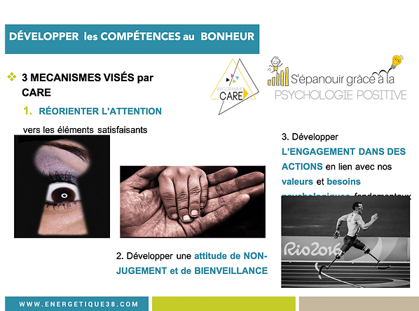 Programme CARE Psychologie Postive Grenoble Carine André