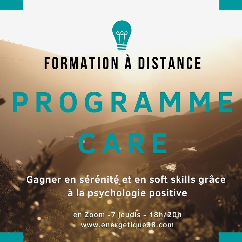 Programme CARE - Session 2021